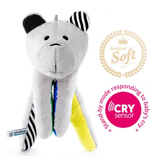 WHISBEAR® THE HUMMING BEAR | CRYSENSOR (CITRON)